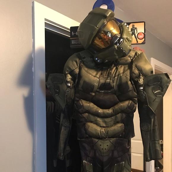 Kids master chief costume